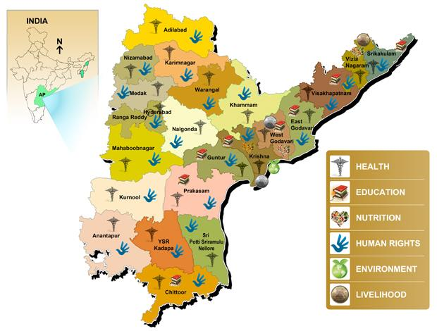 We currently operate in Andhra Pradesh, Tamil Nadu and West Bengal in India.