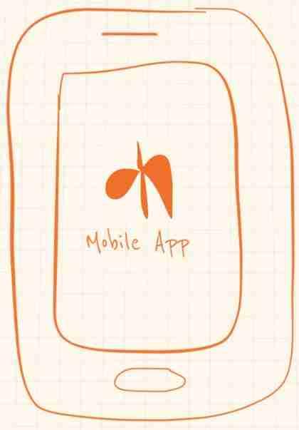 Pregnancy App download button